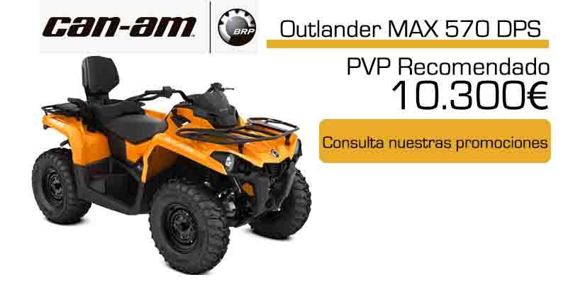Oferta 2020 quad canam Outlander Max 570 dps 2020