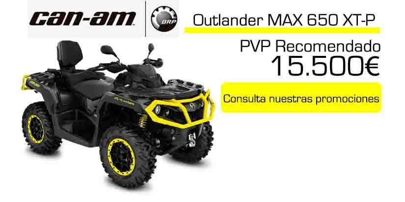 Oferta quad Can-am Outlander Max 650 xpt 2020