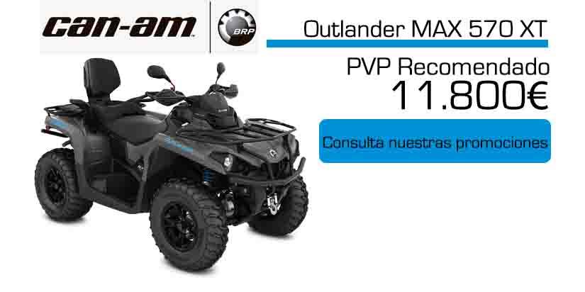 Oferta especial quad Can-am Outlander Max 570 XT