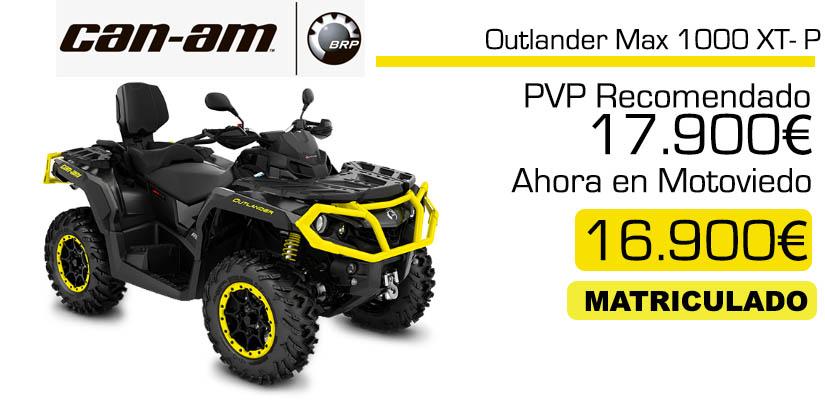 quad canam outlander max 1000xt-p oferta y precio