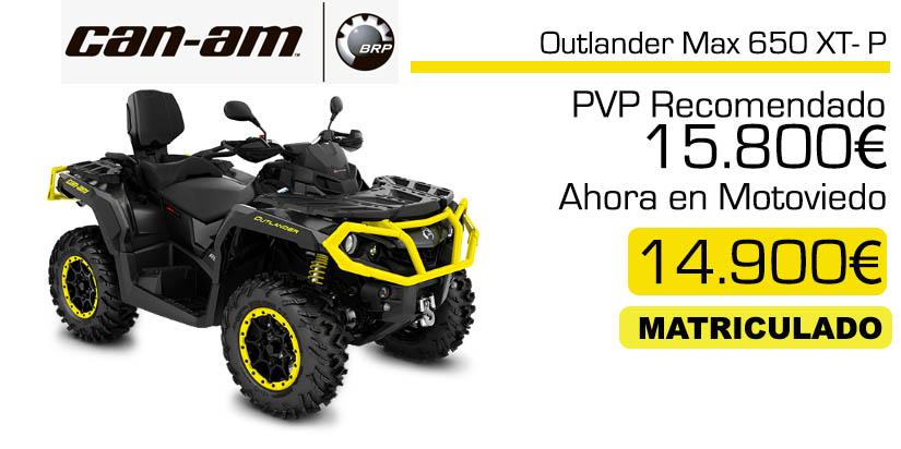 Outlander Max 650 XTP precio y oferta