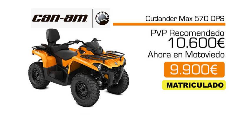 Can-am Outlander Max 570 oferta