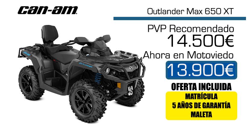 Can-Am Outlander Max 650XT